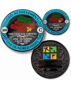 100 Hides Geo-Achievement® set