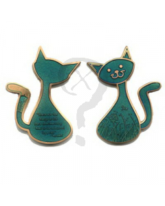 Mellow Cache Cat Geocoin