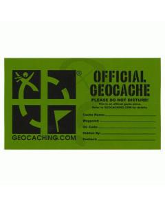 Medium Geocache Decal