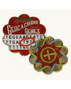 DNA Geocoin - Adenine