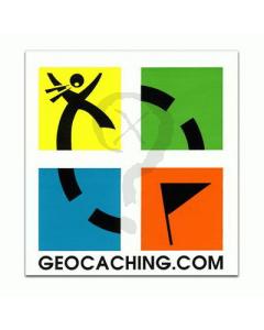 Geocaching.com Logo Decal