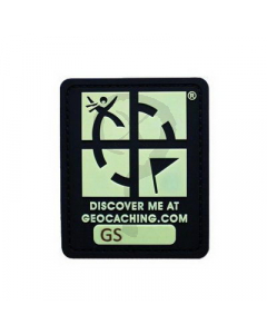 Geocaching Logo Trackable Patch - Glow in the Dark