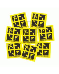Geocaching Logo Mini Stickers