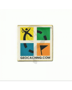 Geocaching.com Logo Pin