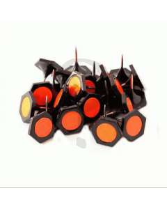 Black with Blaze Geotacks