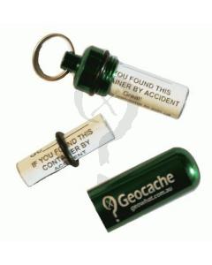 Green Micro Geocache