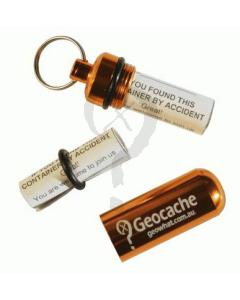 Orange Micro Geocache