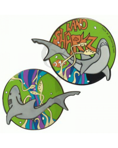 Green Pearly Depths Geocoin