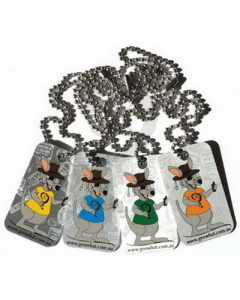 Set of 4 Walkabout Tags