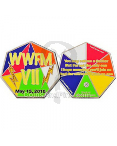 World Wide Flash Mob VII Geocoin